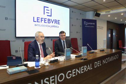 Jornada Lefebvre. DPOs Juan Pujol y José Ángel Martínez